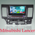 Mitsubishi lancer With GPS Bluetooth Phonebook Bluetooth music for 2008-2011