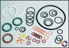 NBR, HNBR, NBQ, FKM, CR, PDFE, EPDM, silicone gasket ring