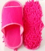 Chenille Cleaning Slipper indoor ,lazy slipper
