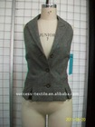 ladies' wool blenaded vest garment