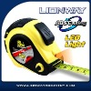 ABS casing Tape Measure with LED Light