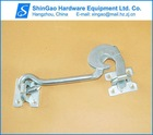 "8"" Safety Gate Hook (Zn-Plated) - door latch -heavy"