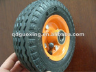 Small pneumatic rubber wheels for trolley