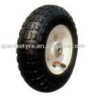 rubber pneumatic wheel