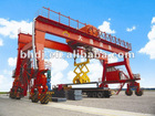 Double girder rubber-tyred gantry crane