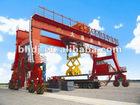 Double girder rubber-tyred gantry crane