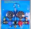three-way refrigerant valve