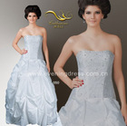 Classical White Wedding Gown 050 2012