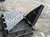 D400 Double Triangular Manhole Cover