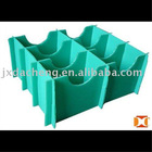 GREEN TWIN-WALL CORRUGATED PLASTIC PP CLAPBOARD