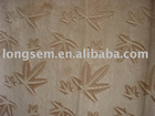 100% Polyester super brushed velboa fabric