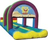 inflatable surf slide, inflatable slip slide B4085
