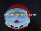 PU Christmas Santa Claus Anti stress Ball