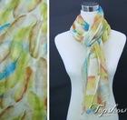 fashion feather printed scarf