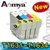 New! Ink cartridge for Epson Workforce WF-2010W/2510WF/2530WF/2540WF T1631-T1634 T1811