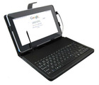 Tablet PC case keyboard