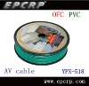 High quality audio and Video pvc cable YPX-518