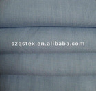 T/Cyarn dyed plain fabric
