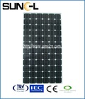 Cheapest price 180w monocrystalline solar panel/module/model with TUV/CE/CEC/IEC certificated