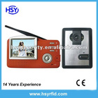 3.5 inch wireless video door phone
