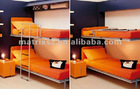 yellow saving space transformable folding bunk beds