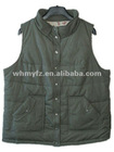 european size casual silk wadding jacket vest waist men clothes