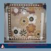Flower marble medallions water jet medallions