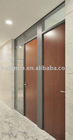 apollo wooden door, aluminum alloy door case, MDF with laminate finish, water-proof, fire-resistant