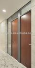 apollo wooden door, aluminum alloy door case, MDF with laminate finish, water-proof, fire-resistant