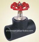 hdpe stop valve