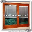 Colored Aluminum window with blind