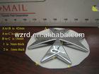 Promotional 3D Chrome Plastic Malta Cross Emblem