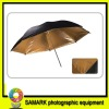In the black gold single glance the umbrella