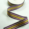 garment accessories colourful striped ribbon