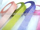 color metallic ribbons