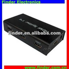 Mini 1 in 4 out HDMI Splitter with Amplifier