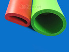 Big size green factory silicone foam tube