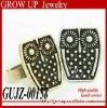 2012 custom cheap fashion vintage owl ring