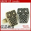 2012 custom cheap fashion vintage owl ring