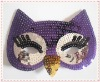 sequins bird mask for party