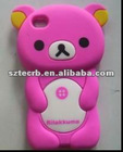 2012 fashional bear mobile phone for iP4