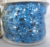 Plastic Wedding Garland 10-Yard Wedding Bead Garland BLUE