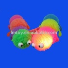 Flashing animal puffer ball/caterpillar