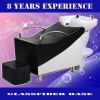 FM2007 Black Shampoo Bed / Wash bed with glassfiber base