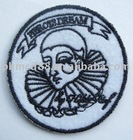 circle Embroidered Badge/felt embroidery Badge