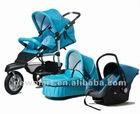3 in 1 Baby stroller with EN 1888 standard