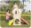kids slide TXL-156H plastic castle