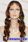 Fashion beyonce full lace wig with Indian remy hair