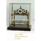 royal European brass antique dynamic craft table clock