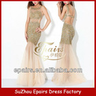 LND31 Fashion Mermaid long sequin beaded shinny see through 2013 prom dresses